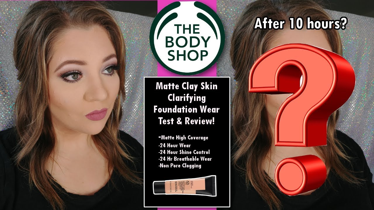 The Body Shop Matte Clay Foundation Review & Wear Test! | Jami Stansfield