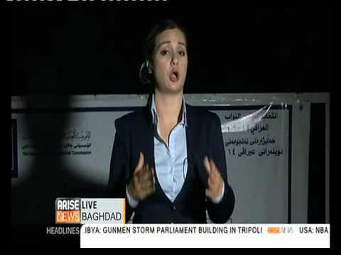 Arise News Baghdad Serena Shim