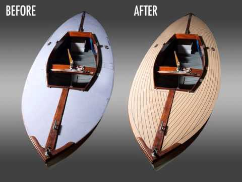 Bahrain decking imitation teak for boat