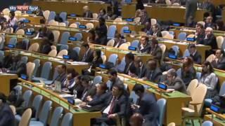 الأمم المتحدة تقر مشروع القرار الكندي