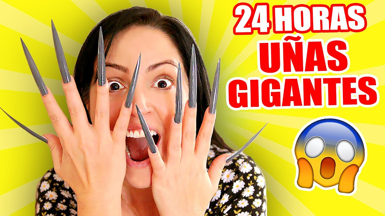 24 Horas Con Uñas Extra Largas Reto Extremo Con Uñas Gigantes Sandra Cires Art Video Analysis Report