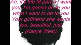 ♥The Beat Goes On : Madonna Ft. Kanye West  With Lyrics On Screen♥