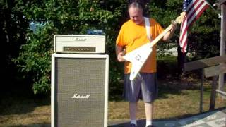 "BigMikeGuitar ""Mike with James Byrd Avianti Guitar and Amp Rig"""