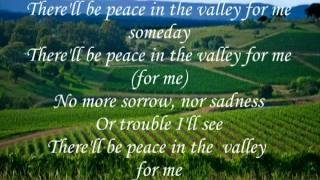 HAVEN OF REST QUARTET --- PEACE IN THE VALLEY (with Lyrics)