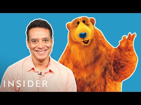 What It's Like To Play Bear From 'Bear In The Big Blue House'