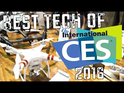 The Best Tech at CES 2016!