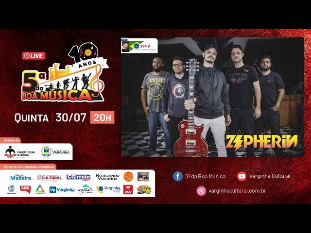 Banda Zepherin - live 5ª da Boa Música