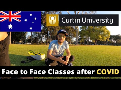 A DAY IN CURTIN UNIVERSITY PERTH   Indian Students
