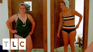 Amish Girls Buy Bathing Suits For The First Time!   Return To Amish