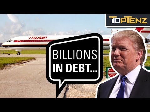 10 of Donald Trump's Business That Completely Failed