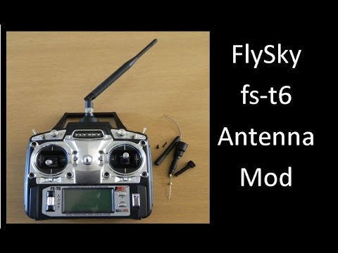 flysky fs t6 antenna mod youtube. Black Bedroom Furniture Sets. Home Design Ideas