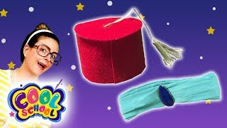 DIY Aladdin Hat & Jasmine Headband! Disney's Aladdin Kids Craft | Arts and Crafts with Crafty Carol