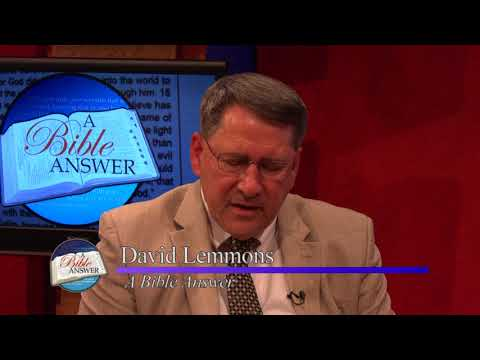 A Bible Answers Episode #707