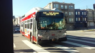 SF Muni 2019 New Flyer XT40 58…