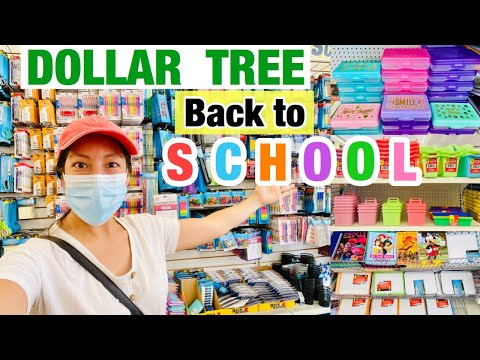 DOLLAR TREE BACK TO SCHOOL SHOP WITH ME ✏️| BACK TO SCHOOL 2020 📓