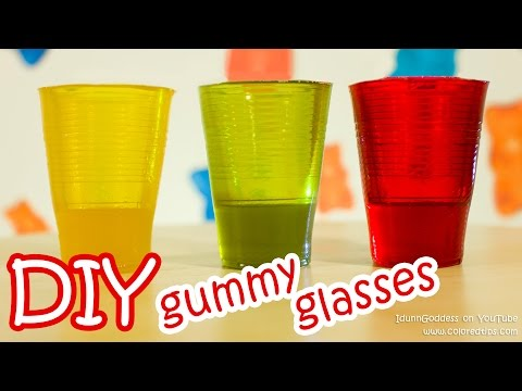 Thumbnail: How To Make Gummy Glasses - DIY Edible Glasses Made From Delicious Gummy