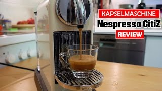 Nespresso CitiZ im Test (DeLonghi EN 166.CW) [deutsch]