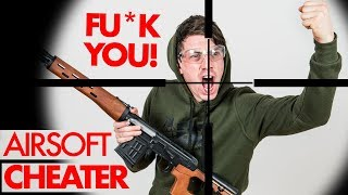 Airsoft CHEATER caught on Camera 2 - NOVRITSCH