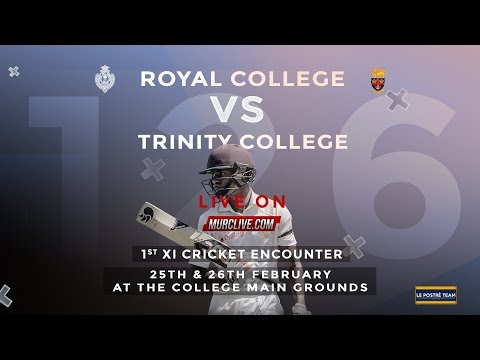 Royal College Colombo Vs Trinity College Kandy 1st XI Cricket Encounter Day 2 - 2019