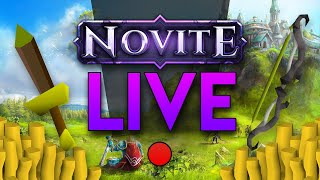 Novite LIVE : GIVEAWAYS All Stream! 150+ ONLINE! *NEW* OSRS Server