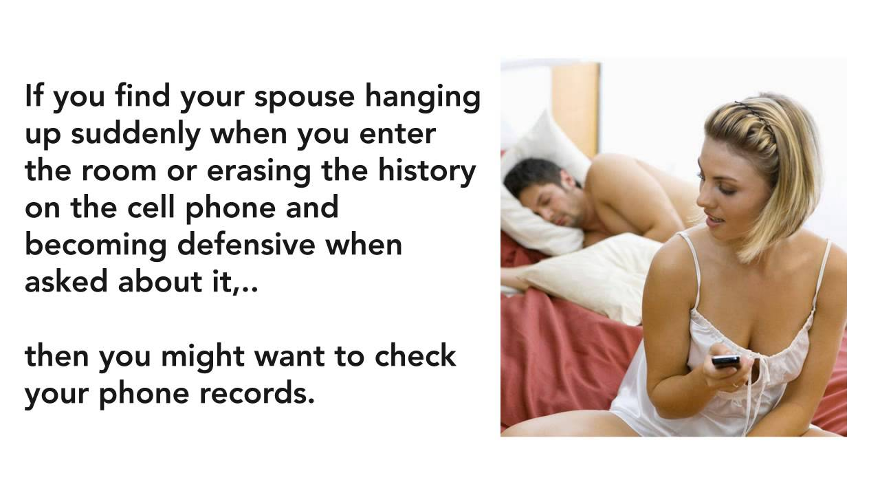 How to tell if husband cheating