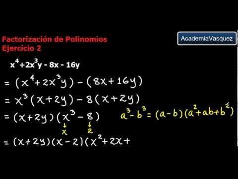 ejercicio polinomios:
