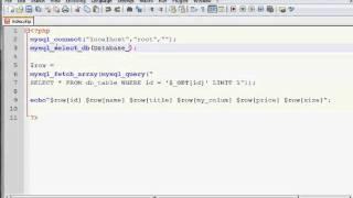 PHP mysql fetch array()