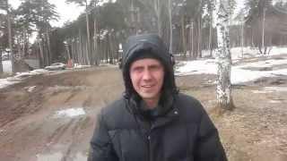 Видео снято на монопод для селфи