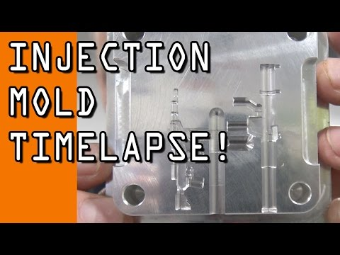 DIY CNC Injection Mold: Timelapse!