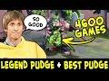 LEGEND Pudge BEST Pub Pudge DENDI And LEVKAN In One Team mp3