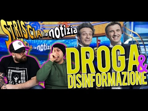 STRISCIA LA NOTIZIA E LA DISINFORMAZIONE SULLE DROGHE | ARCADEBOYZ  |SPUNTI DI RIFLESSIONE