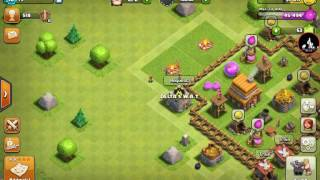 This kid thinks I'm a girl clash of clans (troll)