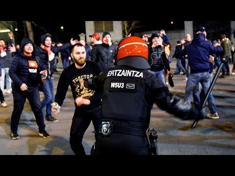 C3 Athletic Bilbao - Spartak Moscow trouble before the game