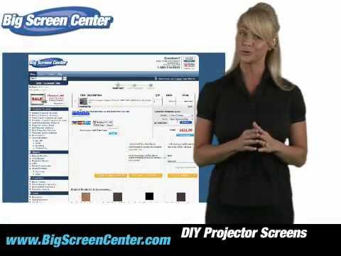 DIY Projector Screens