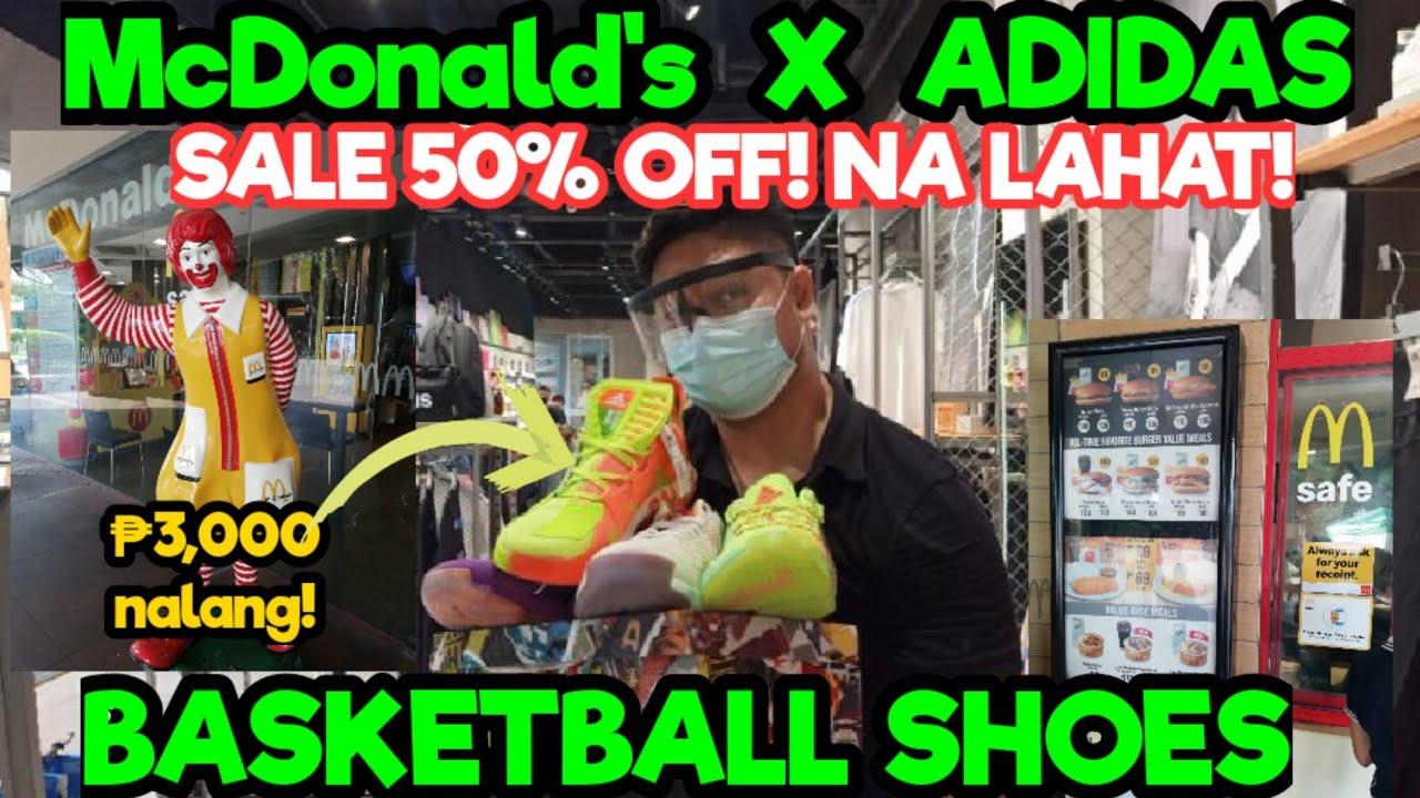 Adidas X Mcdonald's Basketball Shoes! MURA kahit SRP. Price! Check natin Sino ang Mas malupet!
