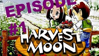 Gambar cover Harvest Moon: Back to Nature Part 1 [PS1 Gameplay DE]