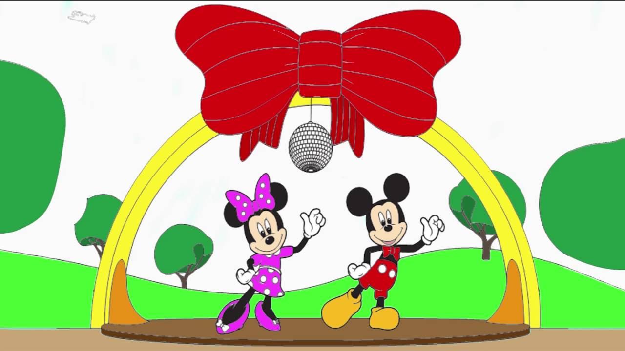 Mickey Mouse Miki Fare Cizgi Film Karakter Boyama Sayfasi 6