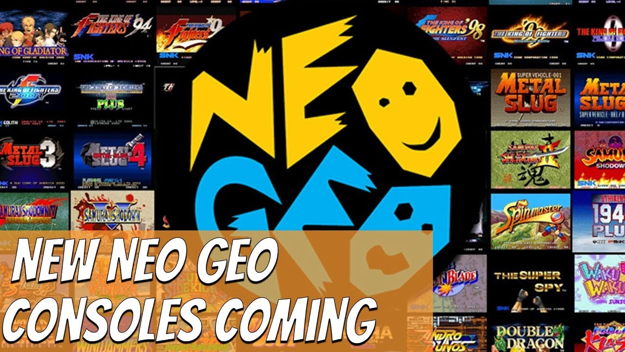 New NEO GEO console coming