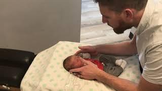 Adjusting a Newborn Baby!