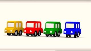Apprenons les couleurs: couleur verte! Vidéo éducative pour enfants
