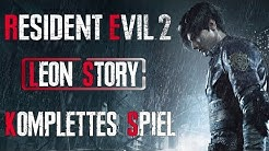 RESIDENT EVIL 2 Gameplay German Part 1 Leon Story FULL GAME German Walkthrough RESIDENT EVIL 2