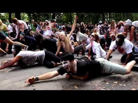 Зомби-моб  5 Санкт-Петербург - Лучший Зомби флешмоб ФМ2013