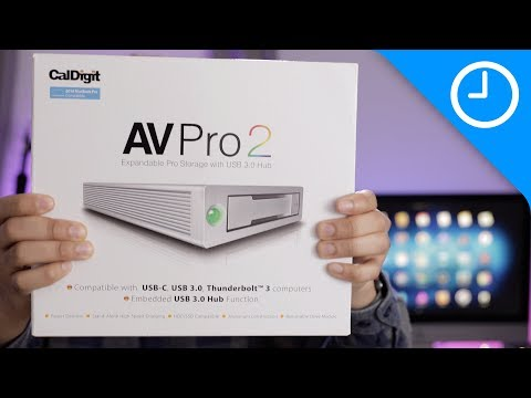 January 2018 Giveaway: CalDigit AV Pro 2 USB-C Drive/hub [9to5Mac]
