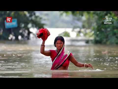 Monsoon flooding kills at least 500 in India