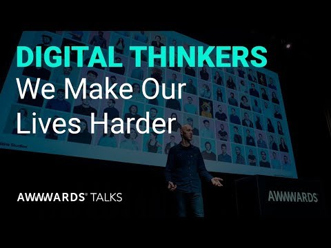 David Navarro: How We Make Our Lives Harder at Awwwards Conference L.A