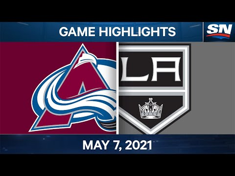 NHL Game Highlights | Avalanche vs. Kings - May 7, 2021