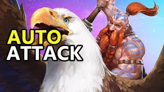 ♥ Heroes of the Storm (HotS) - Auto Attack Falstad