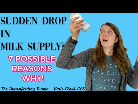Milk Supply Decreasing Suddenly? 7 Possible Reasons Why