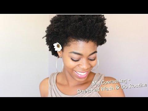 4c Natural Hair Updated Cowashing Moisturizing Routine