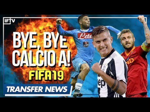 Serie a back in fifa 19!! | serie a transfer news